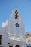 Kerktoren in Mijas Stock Fotografie