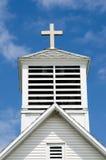Kerktorenspits Royalty-vrije Stock Afbeeldingen
