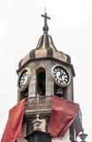 Kerktorenspits van conceptie Stock Foto