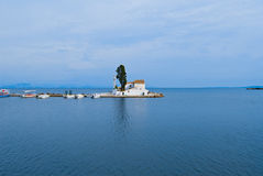 Kerky Church. A nice church in Kerkyra in the sea Stock Images