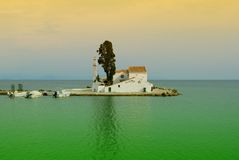 Kerky Church. A nice church in Kerkyra in the sea Stock Photography