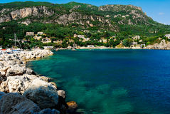 Kerkyra Bay Stock Image