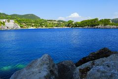Kerkyra Bay Stock Photography