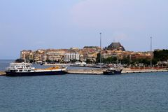 Kerkyra-Corfú Grecia Imagen de archivo