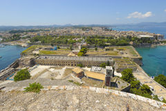 Kerkyra Corfu Foto de Stock Royalty Free