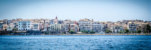 Kerkyra on Corfu Island, Greece Stock Photos