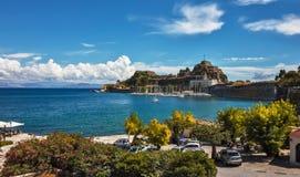 Kerkyra - Korfu - Griekenland royalty-vrije stock fotografie