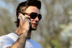 Kerl in der Sonnenbrille Lizenzfreie Stockfotos