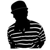 Kerl in einer Kappe Lizenzfreie Abbildung
