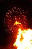 Kerl Fawkes Nacht Stockfotos