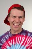 Kerl-Lächeln Stockfoto