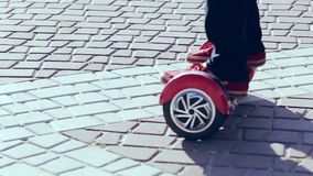Kerlfahrt-hoverboard stock video footage