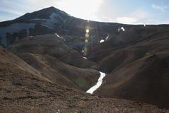 Kerlingarfjöll. Valley of hot springs at Kerlingarfjöll Stock Photos