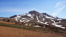 Kerlingarfjoll rhyoliet mountain in centre of Iceland royalty free stock photography