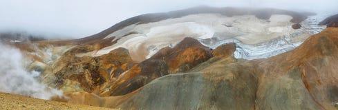 Kerlingarfjoll地热地区,冰岛 库存图片