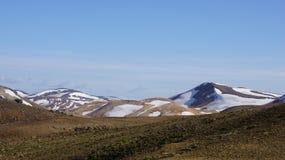 Kerlingarfjoll巧克力山在冰岛 免版税库存图片