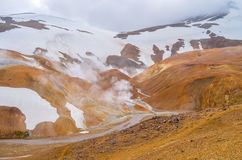 Kerlingarfjoll. Geothermal area in the highlands of Iceland Stock Images