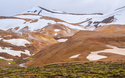Kerlingarfjoll. Geothermal area in the highlands of Iceland Stock Photos