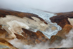 Kerlingarfjoll geothermal area, Iceland Royalty Free Stock Images