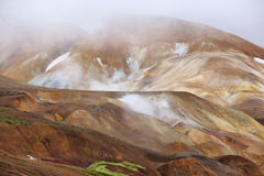 Kerlingarfjoll geothermal area, Iceland Stock Images