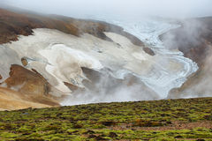 Kerlingarfjoll geothermal area, Iceland Royalty Free Stock Image