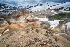 Kerlingarfjoll or The Ogress' Mountains Stock Images