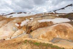 Kerlingarfjoll or The Ogress' Mountains Stock Image