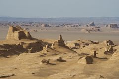 Kalut (Lut) desert Royalty Free Stock Photos