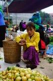 Kermis de la gente montañosa Imagenes de archivo