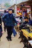 Kermis de la gente montañosa Fotografía de archivo