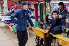 Kermis de la gente montañosa Imagen de archivo