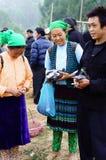 Kermis della gente montagnosa Fotografie Stock Libere da Diritti