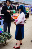 Kermis della gente montagnosa Fotografie Stock