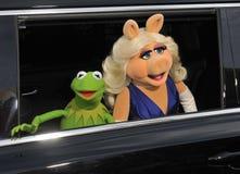 Kermit la rana y la Srta. Piggy Fotografía de archivo libre de regalías