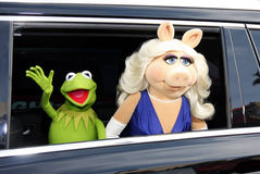 Kermit and Miss Piggy Royalty Free Stock Photography