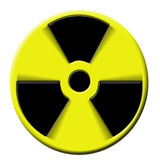 Kern atoombom Stock Afbeelding