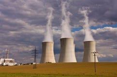 Kern elektrische centrale Royalty-vrije Stock Foto's