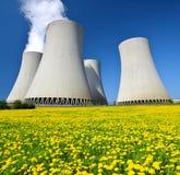 Kern elektrische centrale Temelin Stock Afbeeldingen