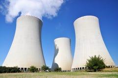 Kern elektrische centrale Temelin Royalty-vrije Stock Afbeelding