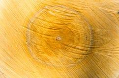 Kern gesägtes Holz der Birkennahaufnahme Stockfoto