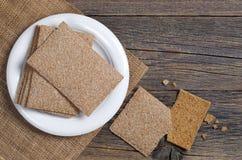 Kernachtig brood voor dieetvoedsel royalty-vrije stock afbeeldingen