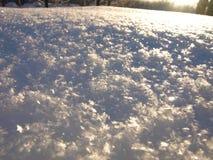 Kernachtige sneeuw Stock Afbeelding