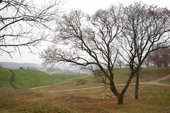 kernave κοιλάδα pajauta στοκ εικόνες