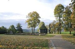 Kernave at autumn stock photos