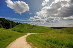 Kernave capitale storico lituano Fotografia Stock