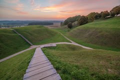 Kernave, historische Hauptstadt von Litauen Stockfotos