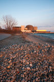 Kerncentrale in Pickering, Meer Ontario royalty-vrije stock afbeeldingen
