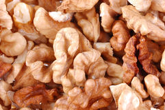 The kernel of nut Stock Photography
