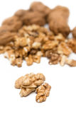 Kernel & nuts Royalty Free Stock Photography