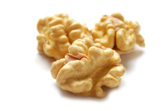 Kernels of Circassian walnuts Royalty Free Stock Image